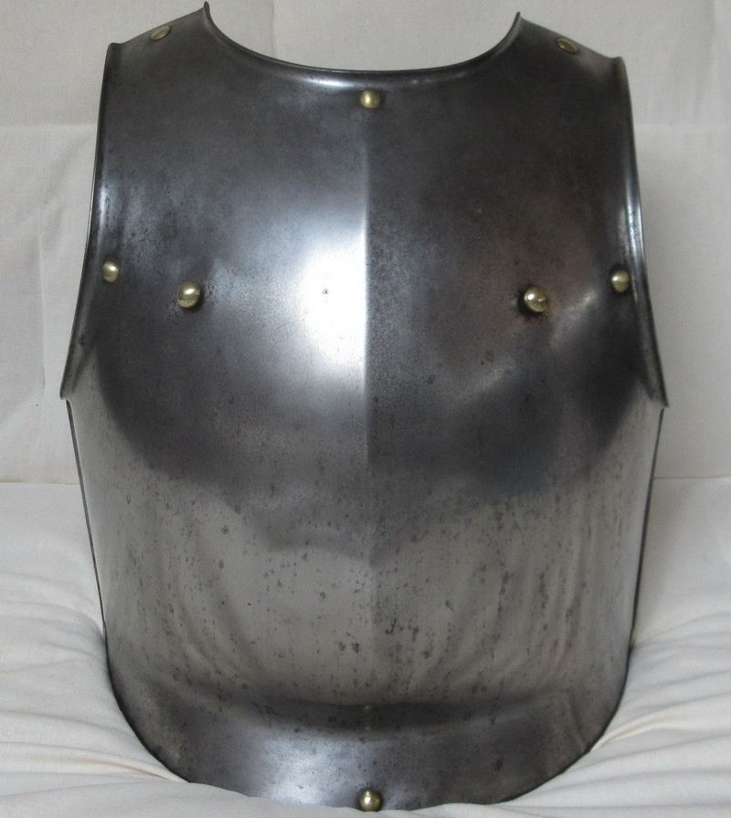 French Cuirassiers Breastplate by Klingenthal Dated 1828 Reign of Charles X 2